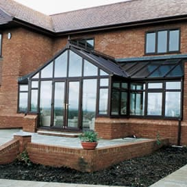Bespoke, specialist design conservatory in uPVC