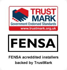 Fensa and TrustMark logos
