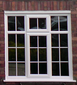 Georgian windows with astragal bars