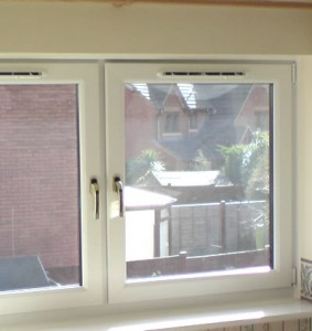 A uPVC tilt and turn window Burham On Sea