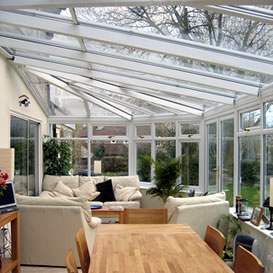 Victorian style conservatory in uPVC