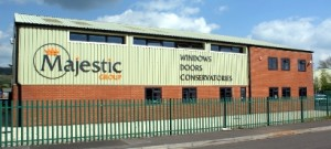 Majestic Designs double glazing showroom in Cheddar