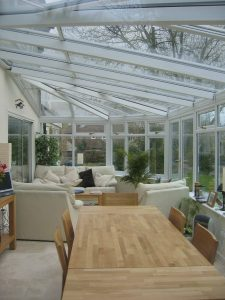 Victorian Hipped garden room internal 3