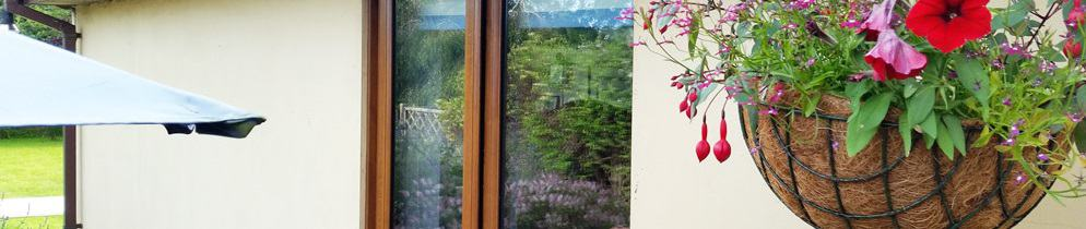 Timber effect uPVC windows