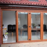 Bifold sliding doors, Highbridge