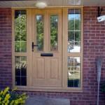 Oak Coloured Composite Door Cheddar