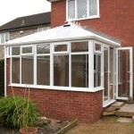 A White Edwardian Conservatory Glastonbury