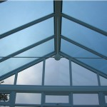 Roof Shot Of Gable Conservatory Somerton
