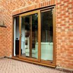 Oak Effect Sliding Patio Door Yeovil