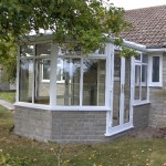 A Small Victorian UPVC Conservatory In High Ham