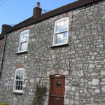 Traditional sash windows for homeowner in Wells