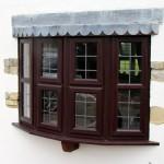 Rosewood UPVC Bow Windows In Yeovil