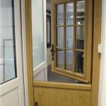 stable door in showroom