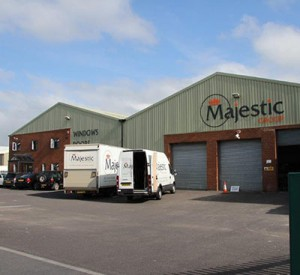Majestic factory and office