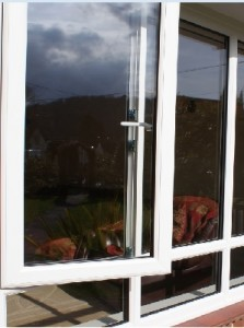 A new double glazing installation