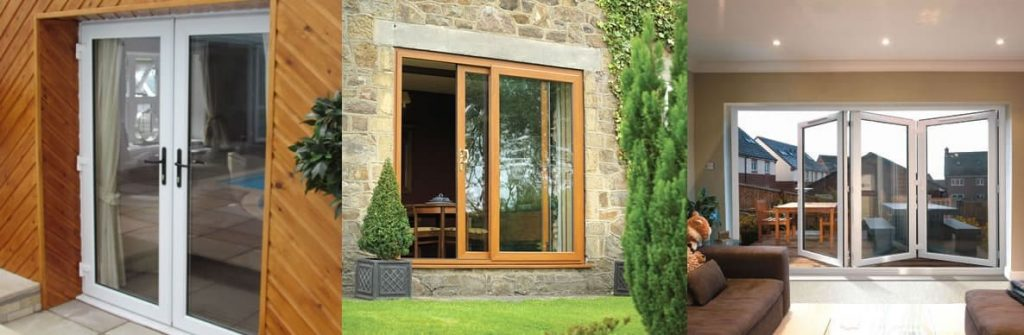 french, patio and bifold doors