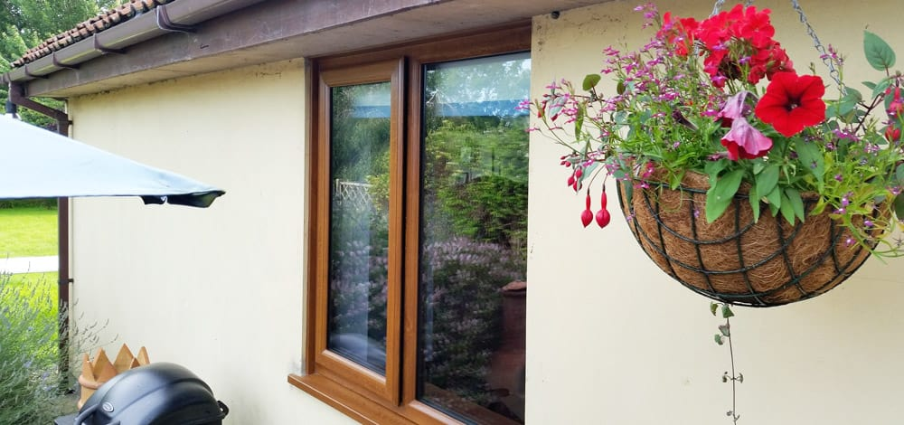 Timber Effect Windows in Axbridge, Somerset