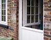 White Stable Door Installation