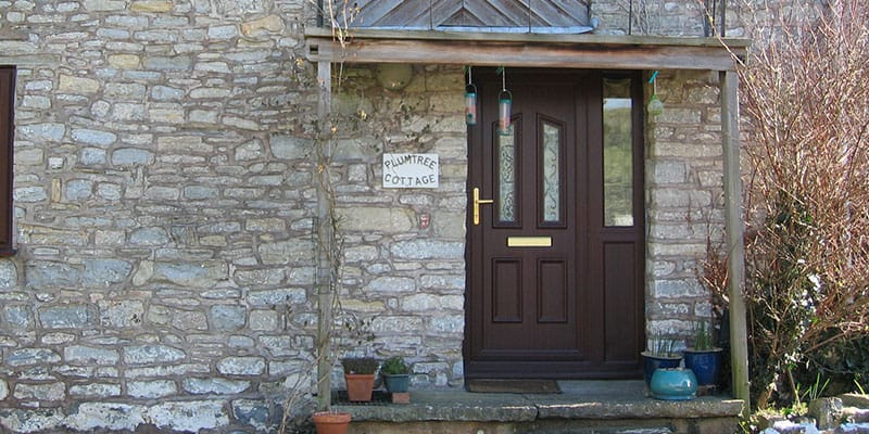 Upvc entrance door installer in somerset majestic designs for Brown upvc patio doors