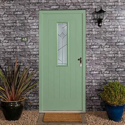 Chartwell Green Composite Entrance Door