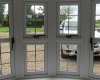 Leaded uPVC Bow window interior