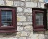 Rosewood uPVC Leaded Casement Window
