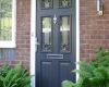 A composite door installation