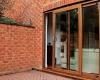 Oak effect uPVC Patio Door