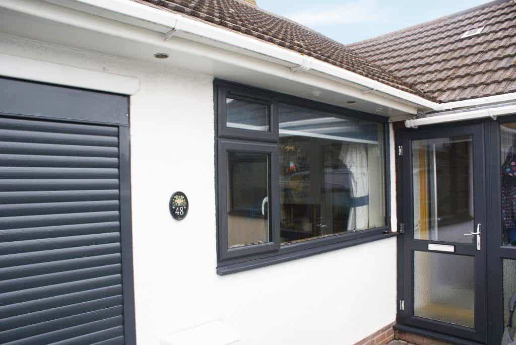 Anthracite Grey Upvc Windows And Doors Installation In