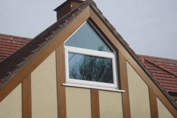 Bespoke uPVC Gable casement window
