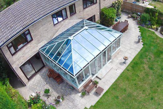 Chartwell green uPVC Edwardian conservatory