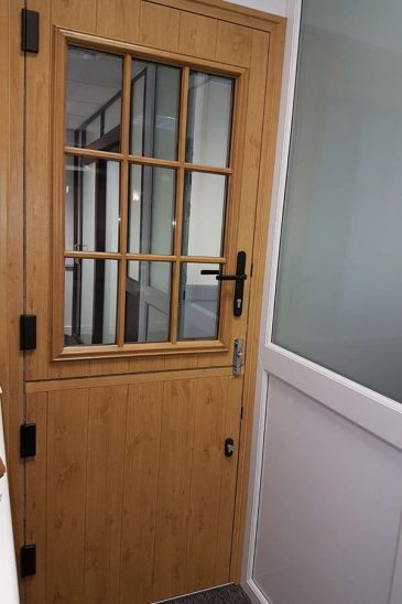 Majestic Designs showroom Irish oak stable door