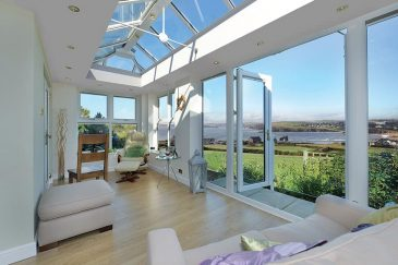 White uPVC LivinRoom Interior