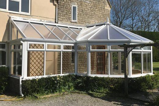 Bespoke P Shaped conservatory