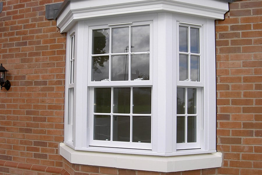 Upvc sash windows in cheddar somerset majestic designs for Upvc window designs
