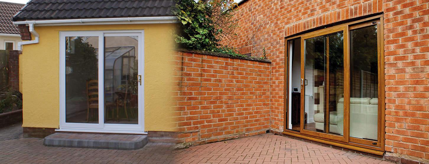 Upvc Sliding Patio Doors In Cheddar Somerset Majestic Designs
