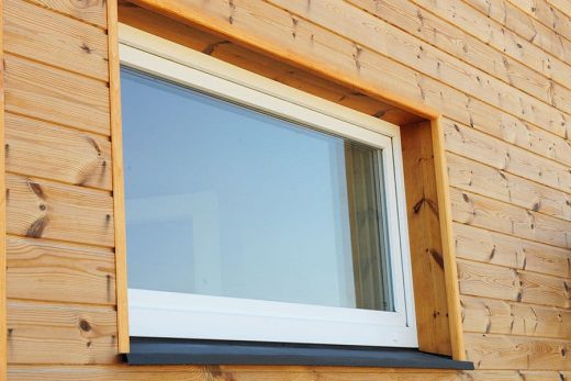 White uPVC tilt and turn window