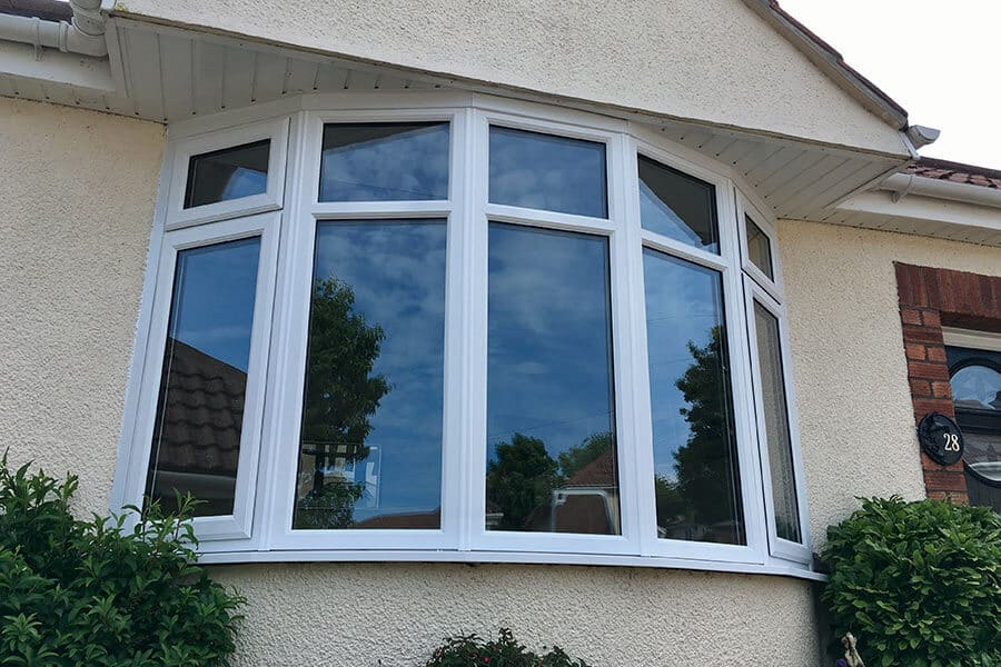 upvc bow windows in cheddar somerset majestic design. Black Bedroom Furniture Sets. Home Design Ideas