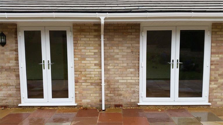 Upvc French Doors In Cheddar Somerset Majestic Designs