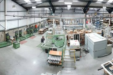 Majestic Designs wide factory view