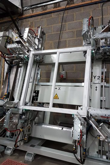 Majestic Designs uPVC window machinery