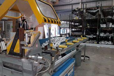Window profile manufacturing