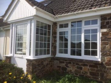 White uPVC Georgian Windows