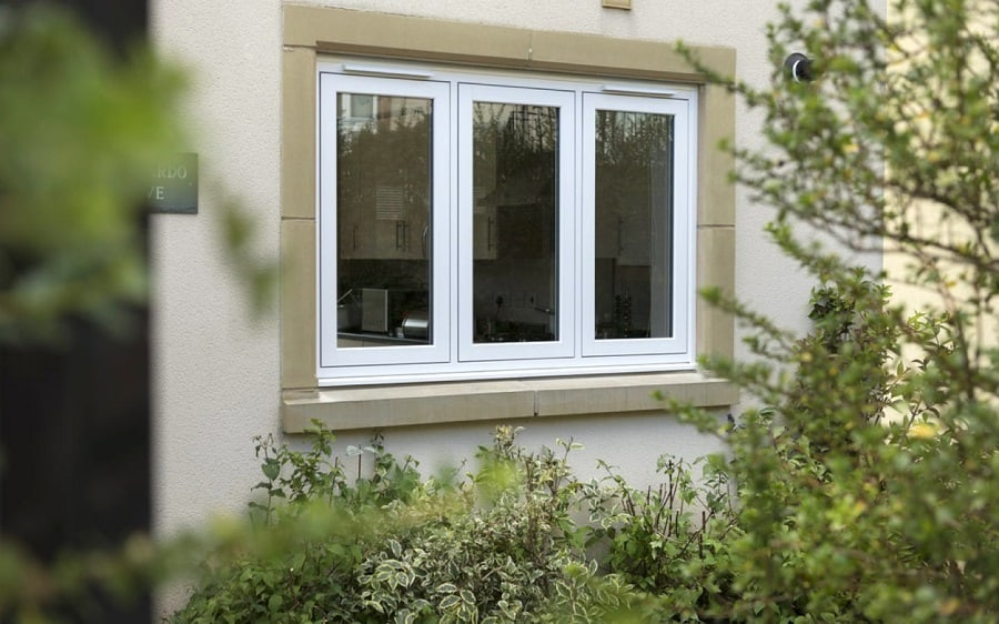 Flush casement windows in cheddar somerset majestic designs for Casement window design plans