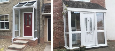 Your UPVC Entrance Door Can Feature As Much Or As Little Glass As You Want  With A Range Of Hardware To Choose From Including Handles, Knockers, ...