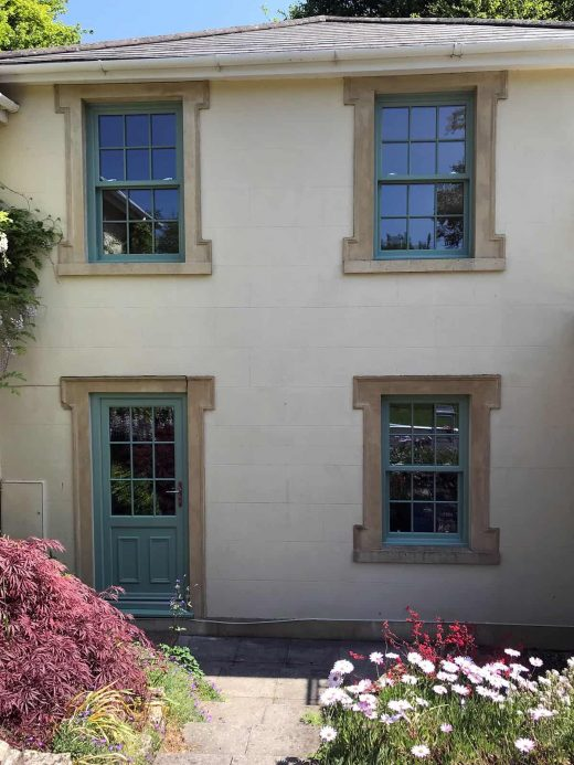 Colour Sliding Sash Windows