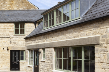 Aluminium Windows For Authentic Somerset Home
