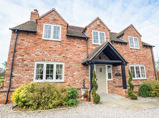 Modern Finish To Authentic Somerset Home With uPVC Windows
