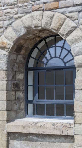 Arched Aluminium Windows