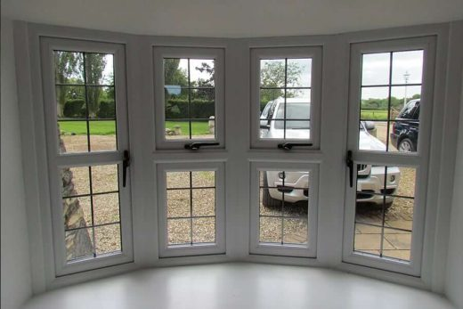 Bow window Interior